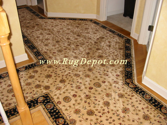 Dynamic Radiance Ivory - Black carpet-tiles