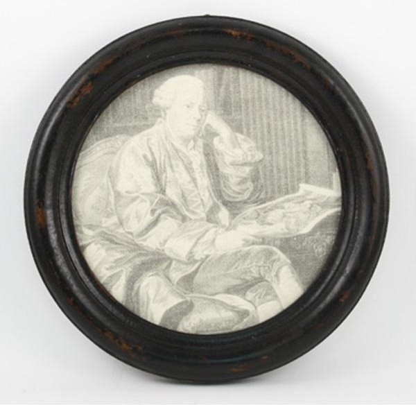 Zentique Round Picture Frame-Large traditional-picture-frames