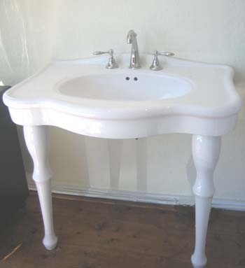 Classic Console Sink Bathroom Sinks By