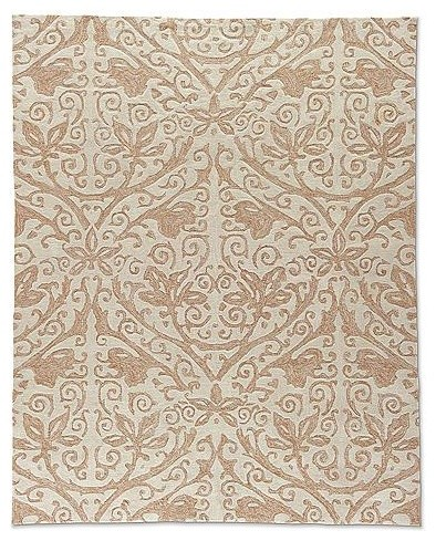 Batik Outdoor Rug - Frontgate traditional-outdoor-rugs