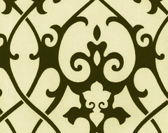 Damask Wallpaper traditional-wallpaper
