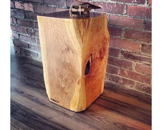 Reclaimed Wood End Table - Reclaimed Wood End Table
