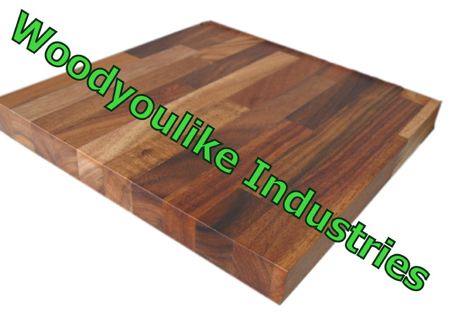 Chinaworktops.com solid wood table tops worktops countertops - Modern ...