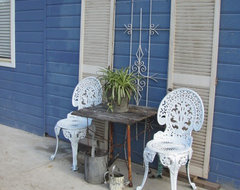 Spice Up Your Decor With Salvaged Shutters...