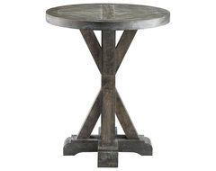 The Stein World Bridgeport Round End Table is destined for a long and happy life contemporary side tables and accent tables