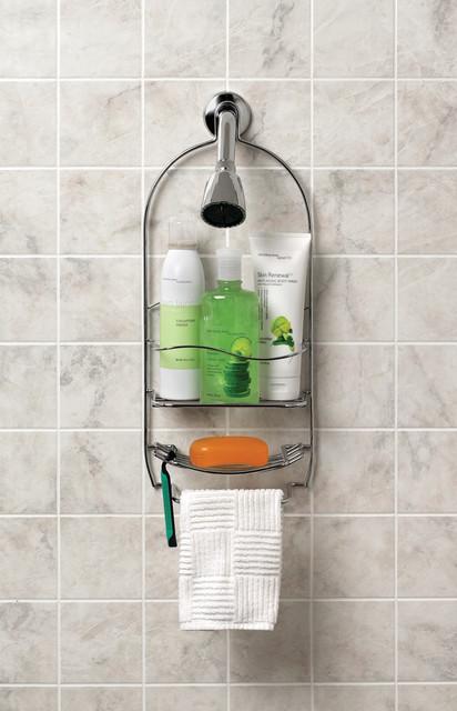 Bathroom storage and organization accessories shower for Bathroom caddies accessories