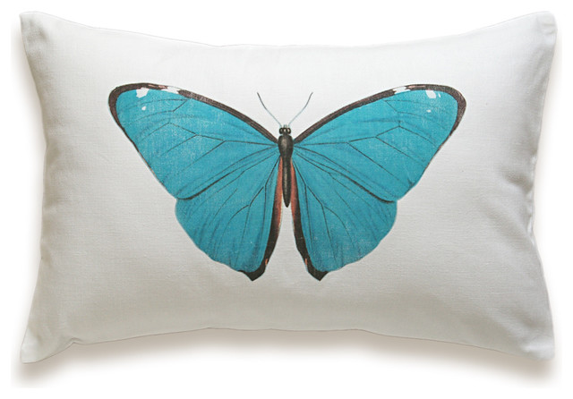 Butterfly Pillow Cover 12x18