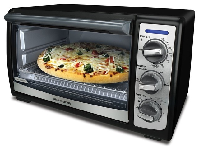 Countertop Convection Oven With Burners On Top : ... Convection Toaster Oven - Contemporary - Toaster Ovens - by Overstock