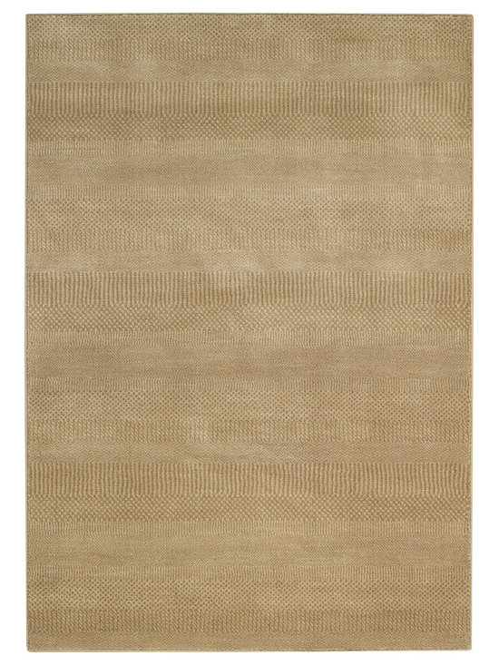Henry rug in Sand - A real head turner, Henry is haberdashery chic and quietly handsome. Inspired by a hand knotted masterpiece.