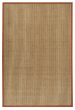Safavieh Natural Fiber NF442B-28 Area Rug - Red modern-rugs