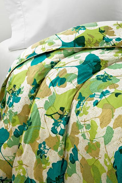 Diane von Furstenberg Gingko Forest Duvet contemporary-duvet-covers-and-duvet-sets
