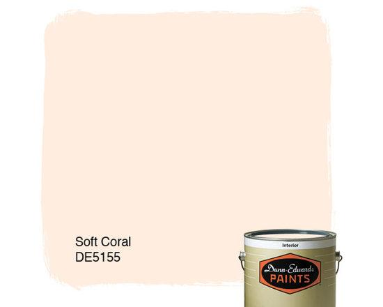 Dunn-Edwards Paints Soft Coral DE5155 -