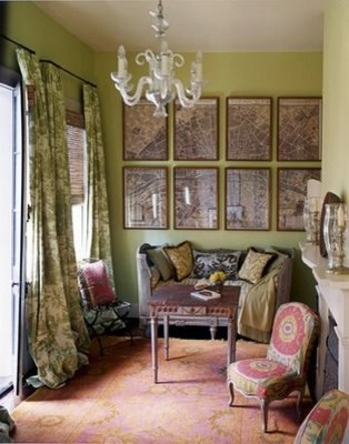 Romantic New Orleans Sitting Room traditional living room