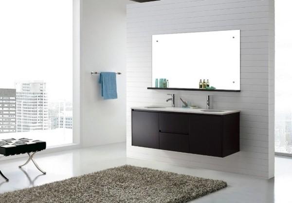 Luxor 1500 Wall Hung Vanity Luxury Furniture Modern Bathroom Vanities A