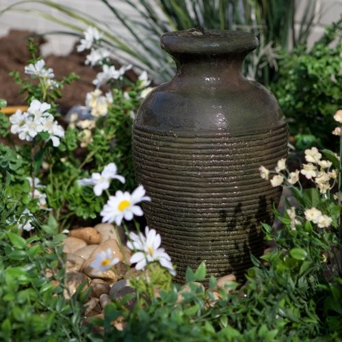 Wetsel Aquascape Amphora Vase Fountain Kit contemporary-outdoor-fountains