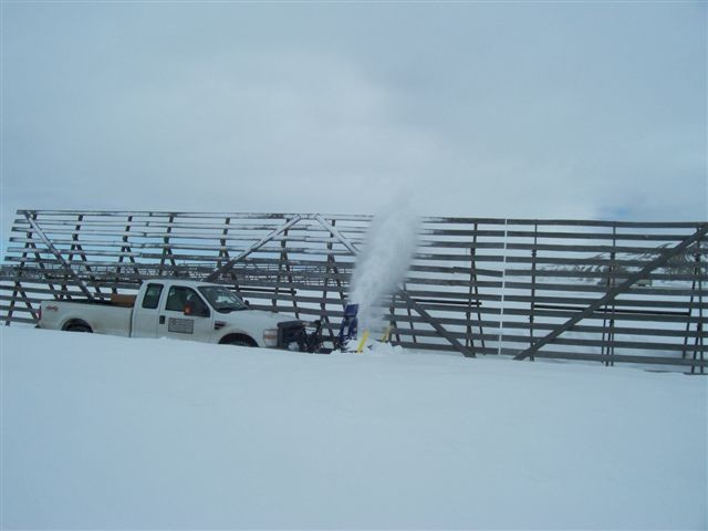 Wyoming snow fence our reclaimed wood source rustic