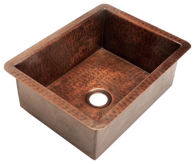 belle foret model bfc4bar copper bar sink bar sinks