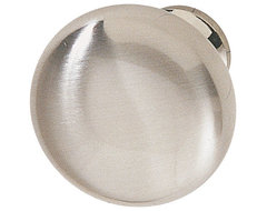 Hafele 134.45.602 Stainless Steel Cabinet Knobs traditional-cabinet-and-drawer-knobs