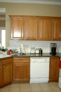 Painter Comes Next Friday Not Sure Of Kitchen Cabinet Color