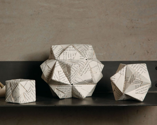 Fathers Day 2013-Origami Accents- Set Of 3 - Origami Accents- Set Of 3