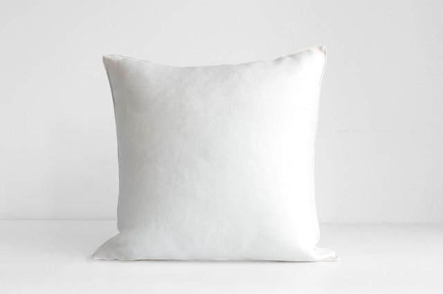 Edge Linen Pillow contemporary-decorative-pillows