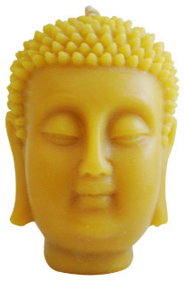 Beeswax Buddha Candle asian-candles-and-candleholders