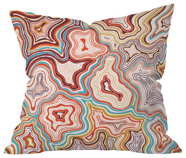 Khristian A. Howell Sedona Throw Pillow contemporary-decorative-pillows