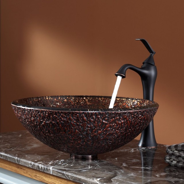 ... Sink and Ventus Faucet - Modern - Bathroom Sinks - new york - by