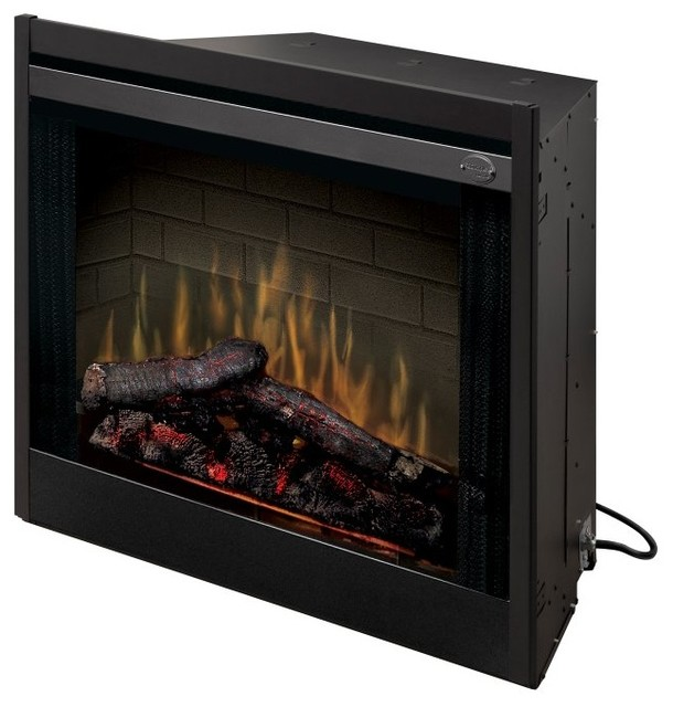 Dimplex 33 In Built In Electric Fireplace Insert Multicolor Bf33dxp Contemporary Indoor