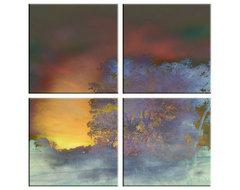 Abstract Tree Canvas Artwork contemporary-fine-art-prints