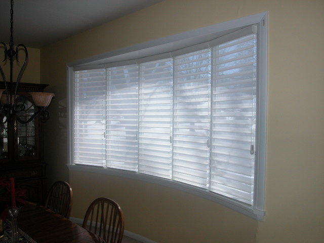 Big Bow Window Philadelphia By Blinds amp Designs