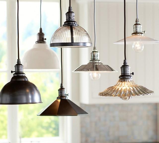 Pottery Barn Pendant Track Lighting : Pb classic pendants traditional pendant lighting