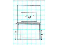 Fireplace Mantel Height