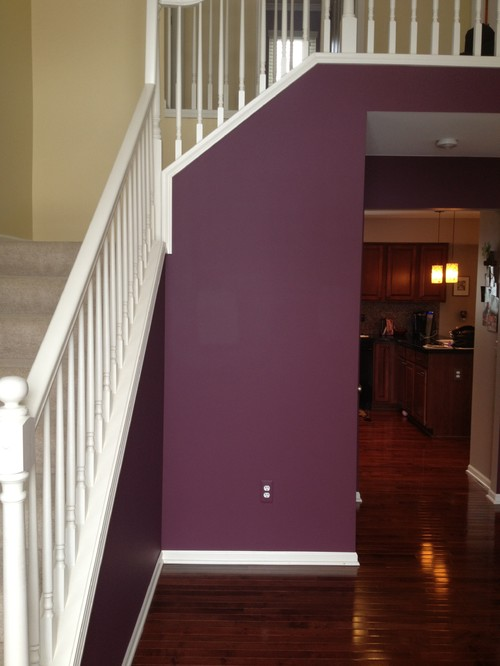 Houzz Foyer Paint Colors : Help need entryway ideas