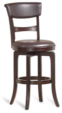 "Cordova Swivel Stool - Bar Stool (30""H seat) traditional-bar-stools-and-counter-stools"