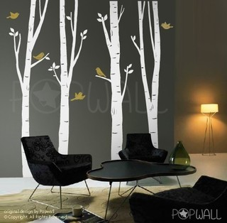 Tree Wall Decal Wall by NouWall eclectic-wall-decals