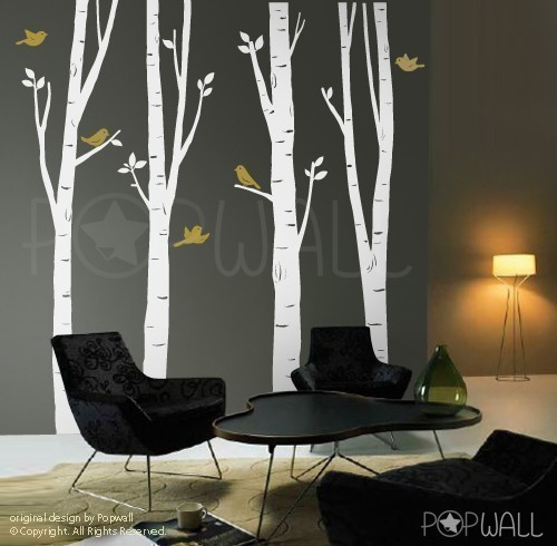 Tree Wall Decal Wall by NouWall eclectic-decals