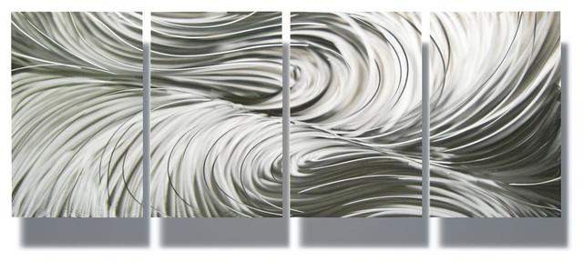 Modern bathroom vanity lighting - Metal Wall Art Decor Abstract Contemporary Modern