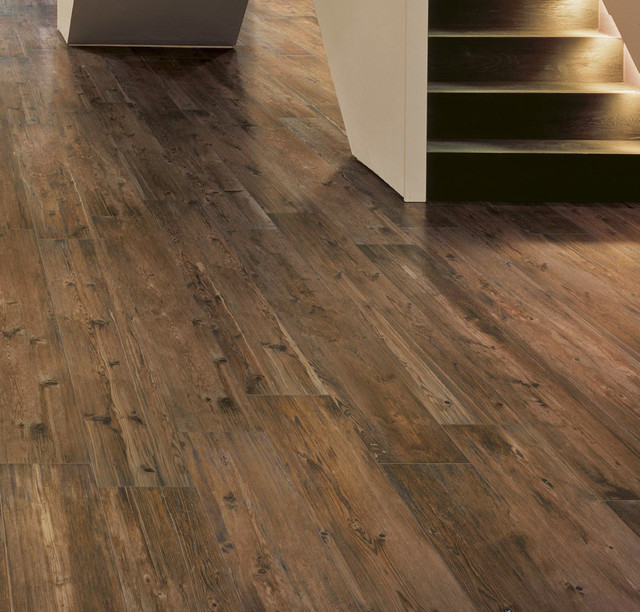 Olde Barn Wood PorcelainTile Contemporary Detroit By Cercan Tile