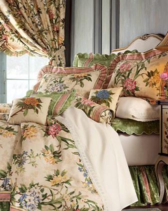 Jane Wilner Designs Hillhouse Wheat Bed Linens Hillhouse Wheat Euro Sham traditional-pillowcases-and-shams