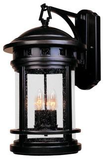"Designers Fountain 2391-ORB 3 Light 11"" Cast Aluminum Wall Lantern ..."