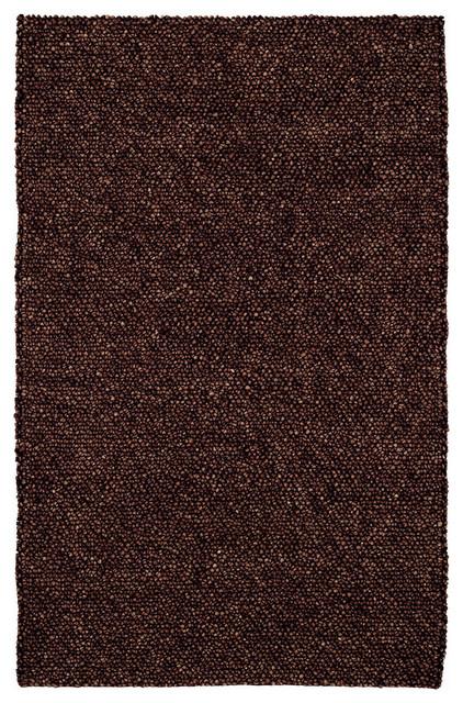 Pebbles rug in Chocolate rugs