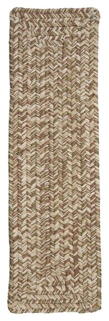 Colonial Mills Corsica Stair Tread - 8 x 28 in. - Set of 13 - CC19A008X028R contemporary-rugs