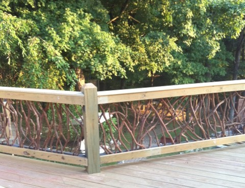 Exterior Deck Railing traditional outdoor products