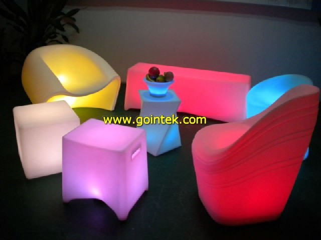 Led Furniture Stool Bar modern-indoor-pub-and-bistro-tables