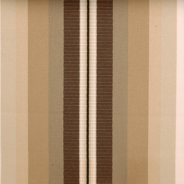 Stripe - Natural/Brown Fabric transitional-upholstery-fabric