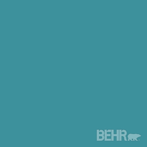 BEHR® Paint Color Lagoon 520D-6 - Modern - Paint - by BEHR®