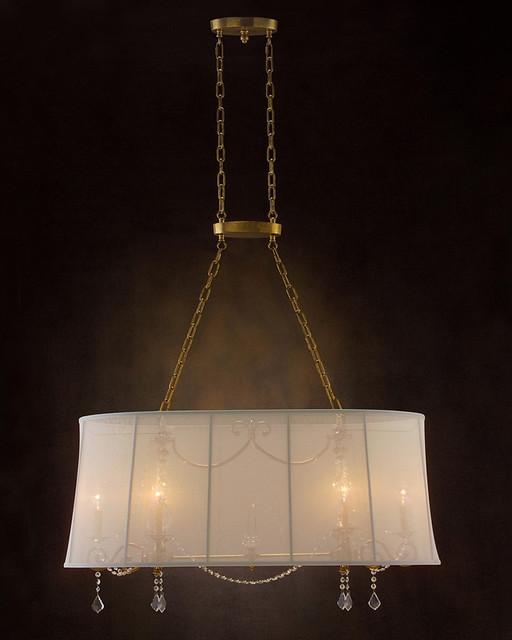 John Richard 6 Light Chandelier AJC-8687 modern-chandeliers