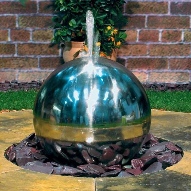 Contemporary Backyard Fountains :  Fountain  Contemporary  Outdoor Fountains And Ponds  by Outdoor