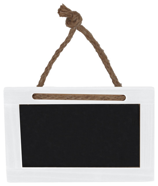 "Sheffield Home Hanging 4""x 2.5"" Wooden Chalkboards With"